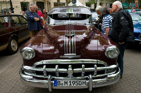 chieftain: Cars Pontiac Chieftain, the exhibition  125 car history - 125 years of history Kurfurstendamm , May 28, 2011 in Berlin, Germany