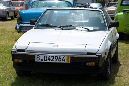 Car Fiat X1   9  The oldtimer show  in MAFZ, May 26, 2012 in Paaren im Glien, Germany