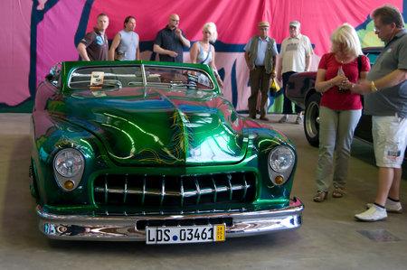 custom car: Custom Car based on the Buick Skylark,  The oldtimer show  in MAFZ, May 26, 2012 in Paaren im Glien, Germany