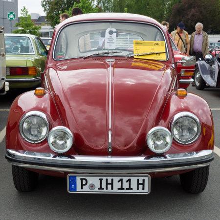 BERLIN - MAY 11: Car Volkswagen Beetle, 26th Oldtimer-Tage Berlin-Brandenburg, May 11, 2013 Berlin, Germany