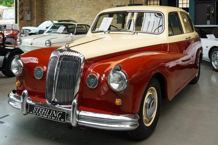 daimler: BERLIN, GERMANY - MAY 17, 2014: Luxury car Daimler Majestic Major V8 (1965). 27th Oldtimer Day Berlin - Brandenburg