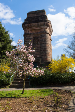 reich: Marburg. Bismarck tower - is a specific form of a Bismarck monument, dedicated to the founder of the German Reich and the first Chancellor Otto von Bismarck. Built in 1903. Editorial