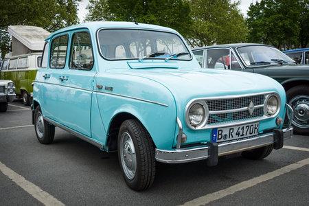 BERLIN - MAY 10, 2015: Economy car Renault 4. The 28th Berlin-Brandenburg Oldtimer Day Sajtókép