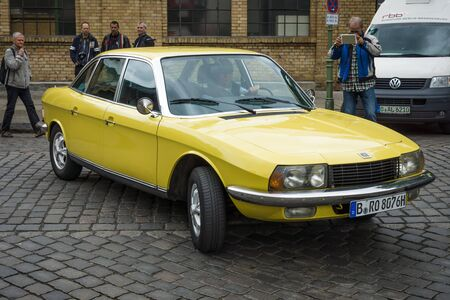 BERLIN - MAY 10, 2015: Executive car NSU Ro 80. The 28th Berlin-Brandenburg Oldtimer Day