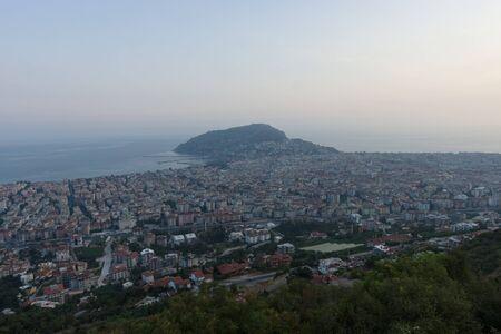 alanya: View of twilight Alanya. Turkey.