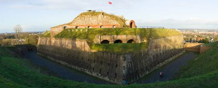 st  peter: Fortification, Fort St. Peter. Maastricht. Netherlands. Panoramic view.