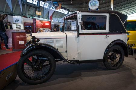classics: STUTTGART, GERMANY - MARCH 17, 2016: Vintage car BMW 315 PS DA2 (Dixi), 1931. Europes greatest classic car exhibition RETRO CLASSICS Editorial