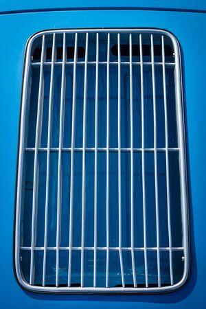 grille': Ventilation grille.