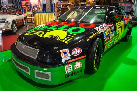 STUTTGART, GERMANY - MARCH 03, 2017: Race car Chevrolet Lumina Nascar, 1989. Europes greatest classic car exhibition RETRO CLASSICS