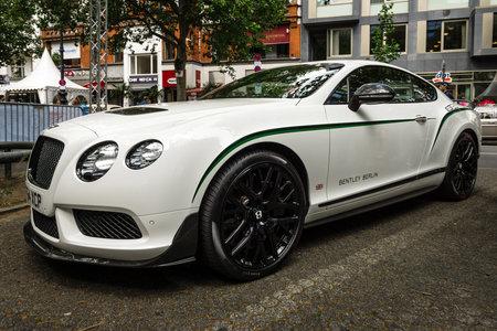 BERLIN - JUNE 17, 2017: Personal luxury car Bentley Continental GT, 2017. Classic Days Berlin 2017. Editorial