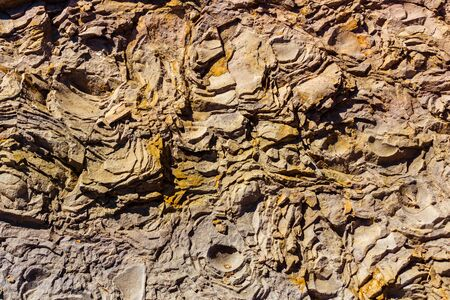 background texture: Sedimentary rock. Structure of natural stone. Background.