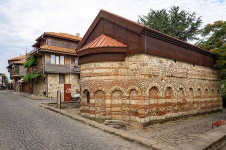 Church of Saint Paraskevi of Iconium (also known as Paraskeva Pyatnitsa). Nessebar. Bulgaria.