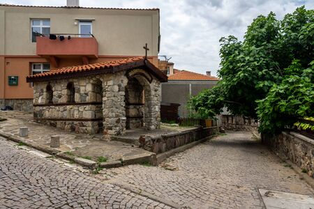 Chapel of Saint Constantine the Great and Saint Helena of Constantinople of an ancient seaside town of Sozopol on the Black Sea Bulgarian Black Sea Coast.