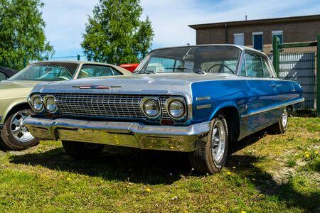 BERLIN - MAY 05, 2018: Full-size car Chevrolet Impala, 1963.