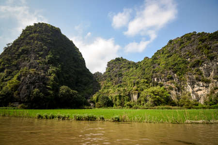 ninh binh carst mountains in northern vietnam