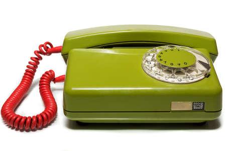 television antigua: La foto muestra a un teléfono móvil sobre un fondo blanco