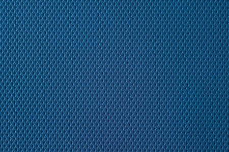 Textuur van blauw rubber, studio, onderwerponderzoek Stockfoto