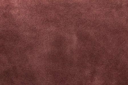 texture of suede brown, studio, subject survey Stock Photo