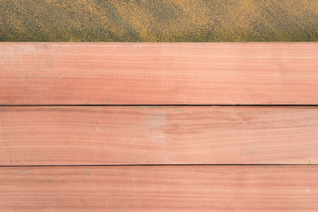New wooden background and Gold texture