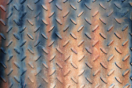 rustic corrugated metal plate suitable for background