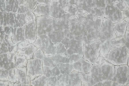 grey color cracked concrete cement wall texture seamless pattern, background and wallpaper Stock Photo