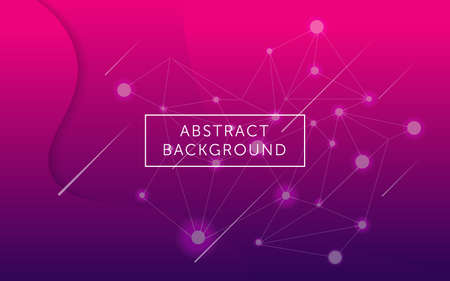 a minimalist pink and purple gradient abstract background with geometric pattern for wallpaper  banner  and website design Illustration
