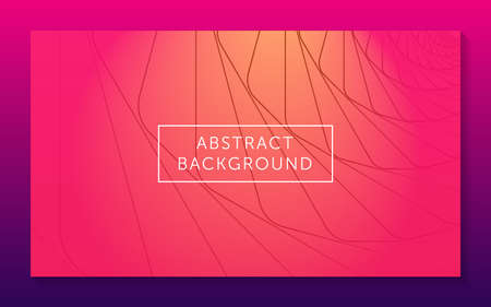 an abstract geometric background with pink  purple  and orange color for website design  landing page  banner  and wallpaper.