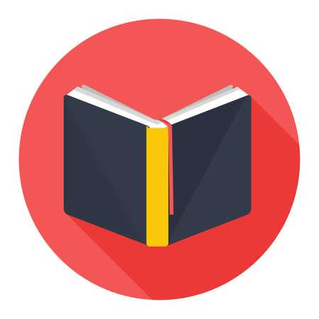 reading book: book icon Illustration