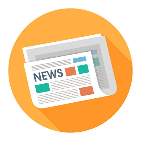 news icon: newspaper icon