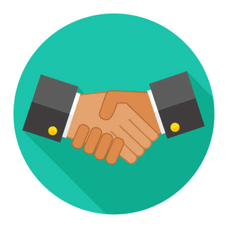 black handshake: agreement, handshake icon