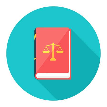law book icon Иллюстрация