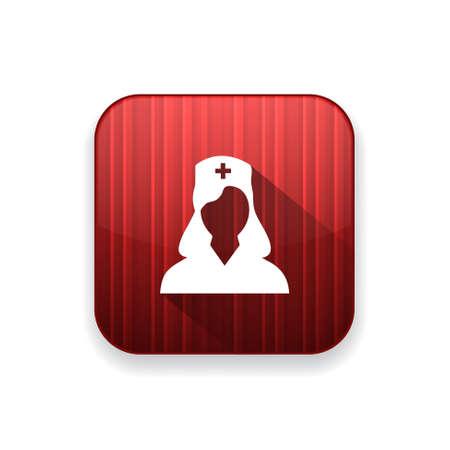 healthcare worker: nurse  icon