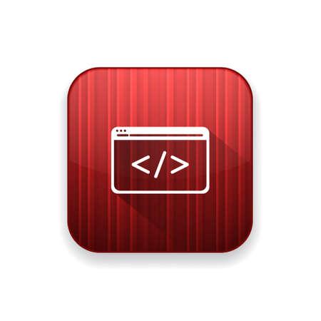 html: html icon Illustration