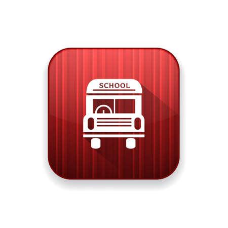 schoolbus: school bus   icon