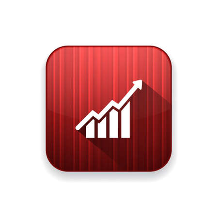 growth chart: growth chart   icon