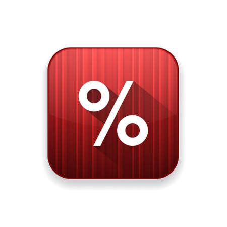 percentage sign: percentage sign  icon