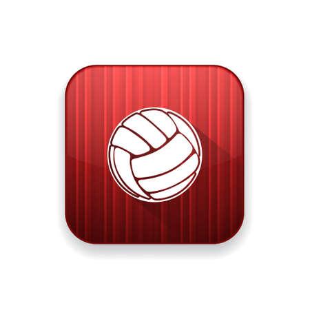 ballon volley: volley ic�ne de balle