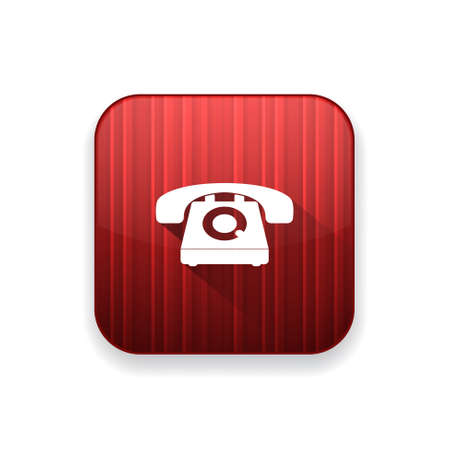 old phone: old phone icon Illustration
