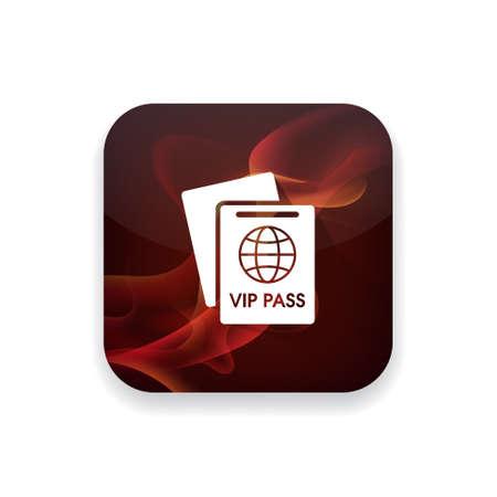 pass on: vip pass Illustration