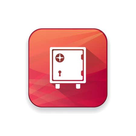 bank safe: bank safe icon