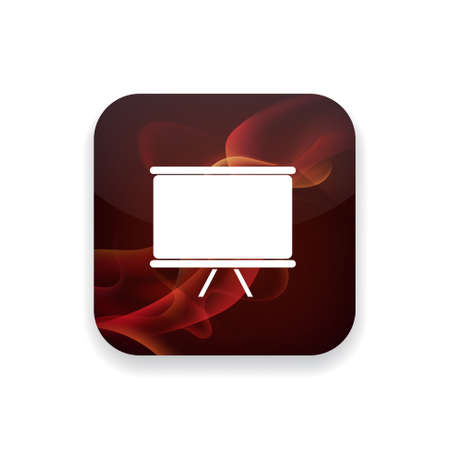 presentation board: presentation board  icon