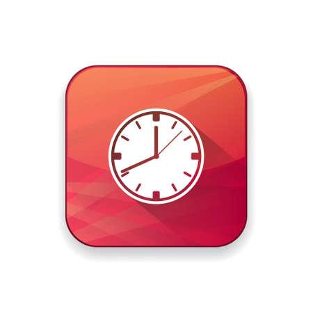 office clock: office clock  icon