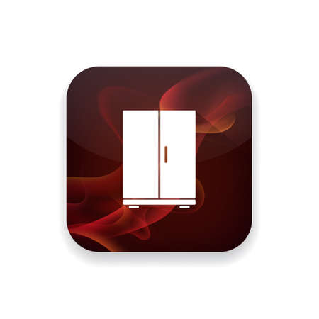 refrigerator: refrigerator icon