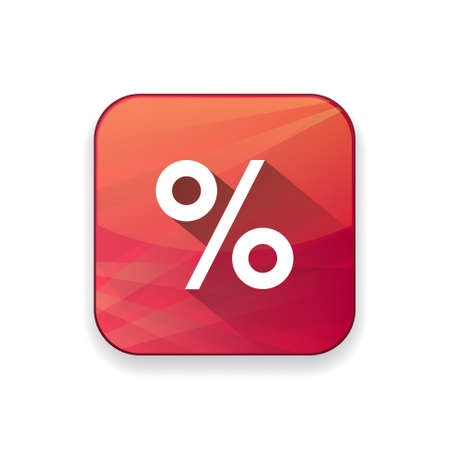 percentage: percentage sign  icon