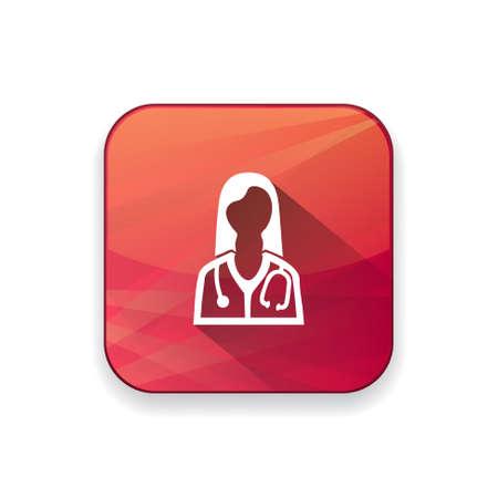 doctor  icon Illustration