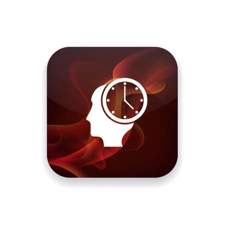 milestones: milestones clock icon Illustration
