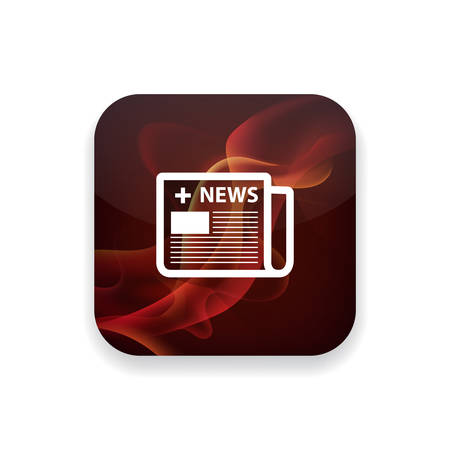 email icons: medical news icon