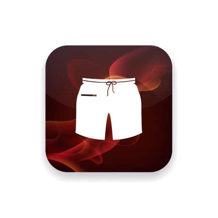 t short: short   icon Illustration