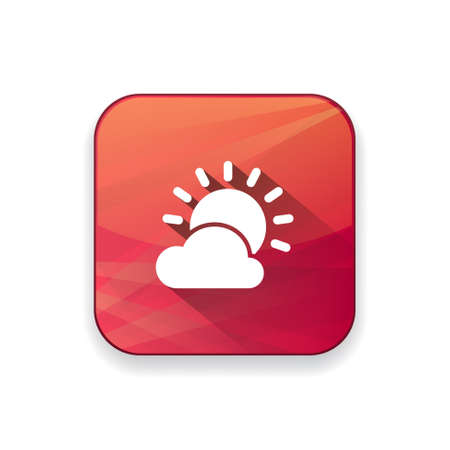 cloudy: cloudy day icon