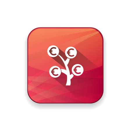 grow money: money  tree   icon